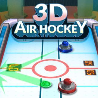 3D повітряний хокей
