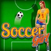 Футбол дівчина